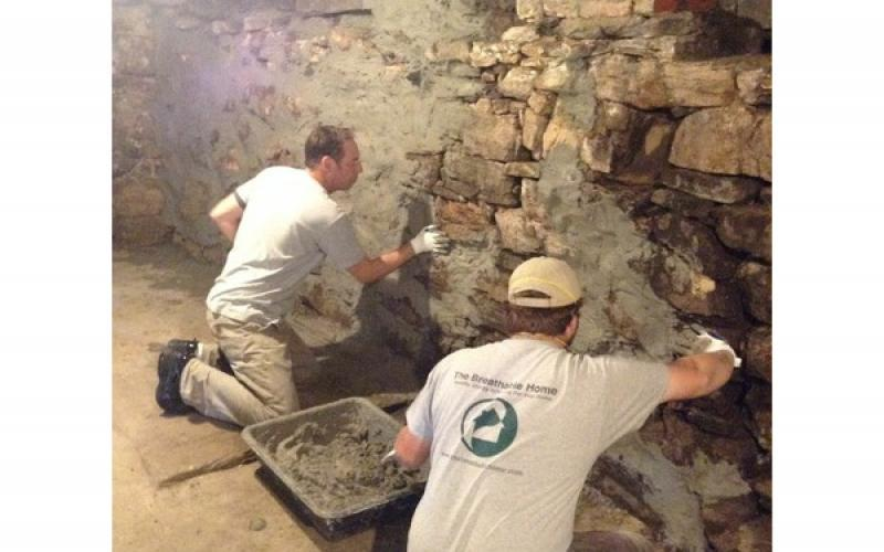 And lots more mortar work before the real fun begins!