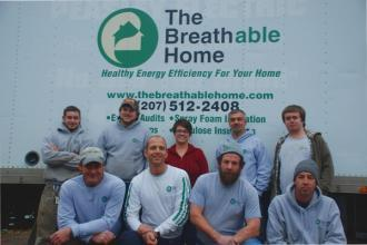 The crew at The Breathable Home