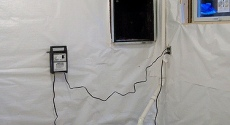 Sump Pump central maine spray foam weatherization dry basement moisture